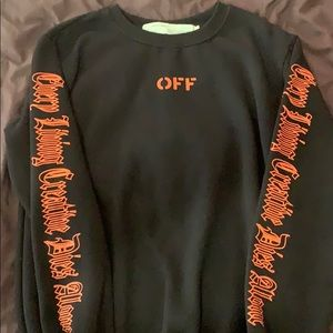VLONE X OFF-WHITE COLLAB Sweater